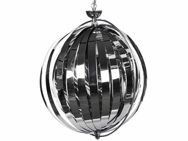 Kokoon Emily Chrome Hanging Ceiling Lamp