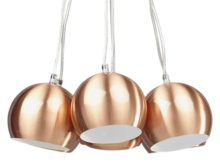Kokoon Skal Copper Hanging Ceiling Lamp