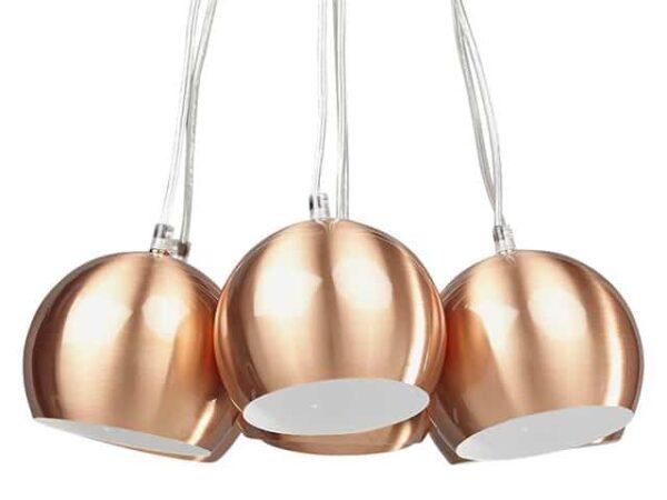 Kokoon Skal Copper Hanging Ceiling Lamp