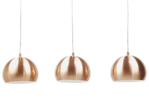 Kokoon TRIKA Metal Triple Hanging Ceiling Lamp