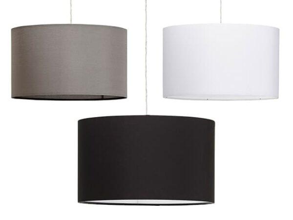 Kokoon Saya Fabric Ceiling Lamp 50cm Diameter