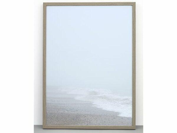 One Must Dash Beach In Mist Photographic Print 30x40cm