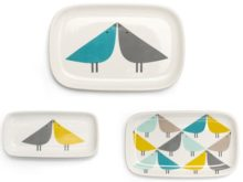 Scion Living Lintu Bird Trinket Dishes Set of 3