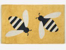 Anorak Buzzy Bees Bath Mat