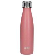 Built New York Stainless Steel Pink Water Bottle 500ml