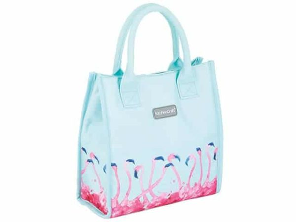 KitchenCraft Flamingo Lunch Cool Bag 4 Litre