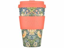 Ecoffee William Morris Bamboo Cup Thief Design 400ml
