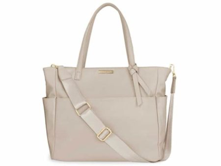 Katie Loxton Warm Grey Baby Changing Bag