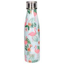 Built New York Stainless Steel Flamingo Water Bottle 500ml