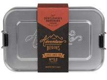 Gentlemens Hardware Aluminium Large Lunch Box