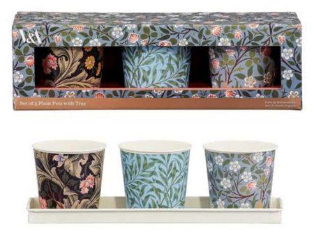 V&A Herb Pots Set of 3