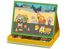 Petit Collage Magnetic Easel Construction Play Set