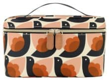 Orla Kiely Train Case Dove