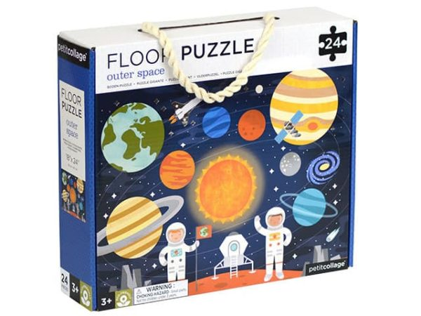 Petit Collage Floor Puzzle Outer Space