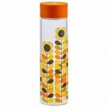 Orla Kiely Multi Stem Daisy Glass Water Bottle 525ml