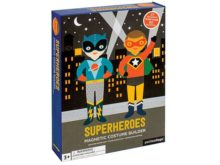 Petit Collage Superheroes Magnetic Dress Up Set