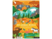 Petit Collage My Animal World Sticker Activity Set