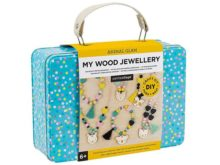 Petit Collage Animal Glam My Wood Jewellery Making Set