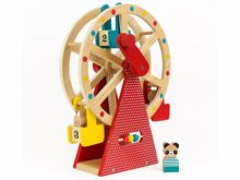 Petit Collage Wooden Ferris Wheel Carnival