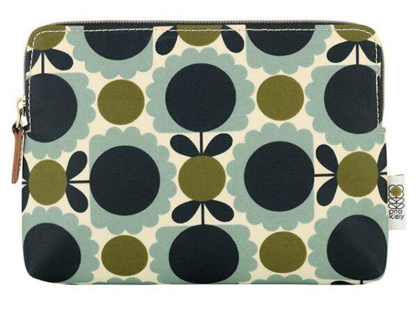 Orla Kiely Scallop Flower Cosmetic Bag