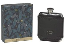 Ted Baker Hip Flask Black Brogue Monkian