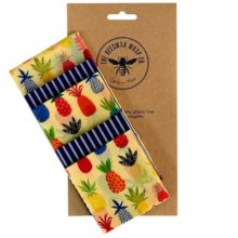 The Beeswax Wrap Co. Medium Kitchen Pack Pineapple