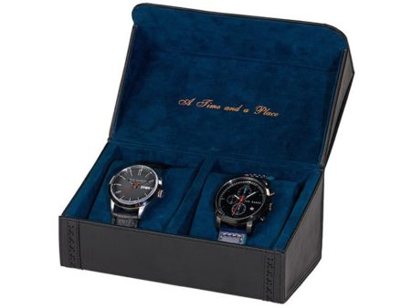 Ted Baker Watch Case Black Brogue