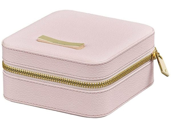 Ted Baker Zipped Pink Jewellery Case