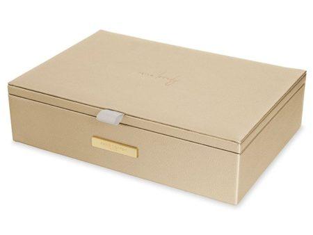 Katie Loxton Gold Jewellery Box | Hello Lovely