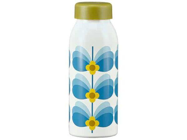 Orla Kiely Insulated Water Bottle Butterfly Stem Sky 500ml