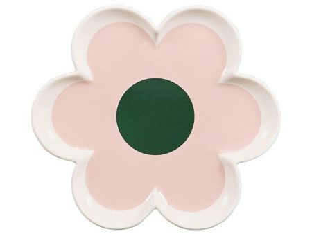 Orla Kiely Trinket Tray - 6 Petal Flower Pastel Pink