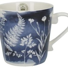 Kew Gardens Mug - Richmond Watercolour Meadow Navy