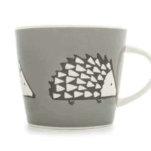 Scion Living Spike Hedgehog Grey Mug 350ml