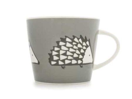 Scion Living Spike Hedgehog Grey Mug 350ml