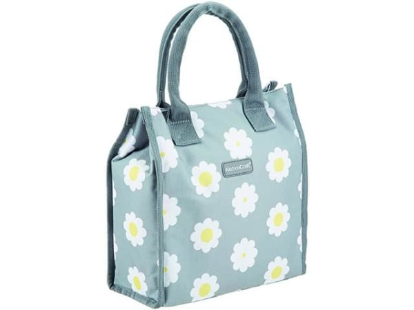 KitchenCraft 4 Litre Retro Flower Lunch Cool Bag