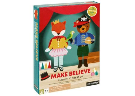 Petit Collage Make Believe Dress Up Magnetic Play Set
