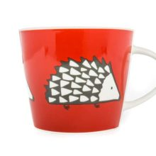 Scion Living Spike Hedgehog Red Mug 350ml