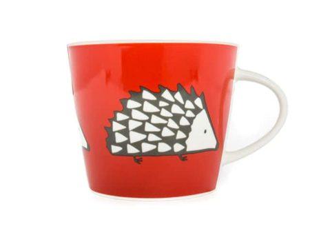 Scion Living Spike Hedgehog Red Mug 350ml