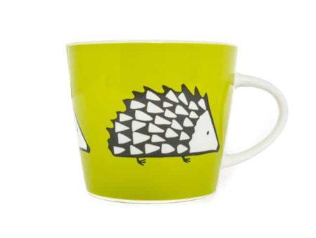 Scion Living Spike Hedgehog Green Mug 350ml
