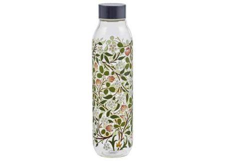 V&A Glass Water Bottle Clover 550ml