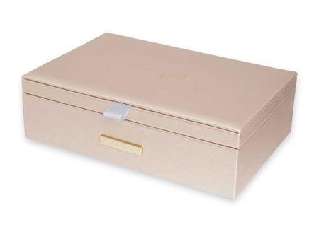 Katie Loxton Pebble Metallic Gold Jewellery Box | Live Love Sparkle