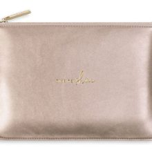 Katie Loxton Perfect Pouch | Time To Shine | Rose Gold