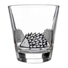 Scion Living Spike Hedgehog Glass Tumbler Grey