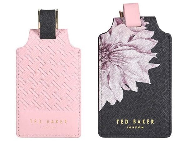 Ted Baker Clove Luggage Tags Set Of 2