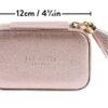 Ted Baker Metallic Pink Mini Jewellery Case Dimensions