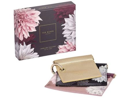 Ted Baker Jewellery Pouch Trio Clove
