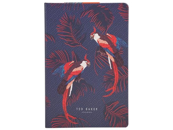 Ted Baker Parrot Notebook A5