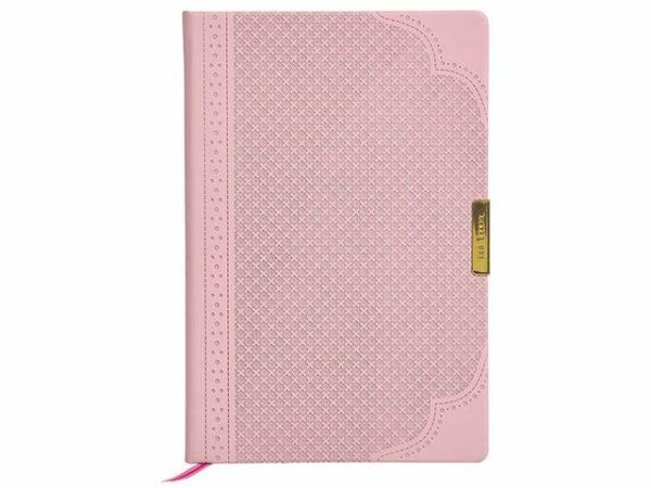 Ted Baker A5 Brogue Geo Dusky Pink Notebook