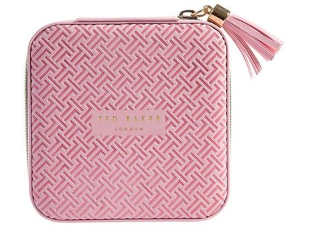 Ted Baker Dusky Pink Jewellery Case T Print