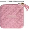 Ted Baker Dusky Pink Jewellery Case T Print Dimensions